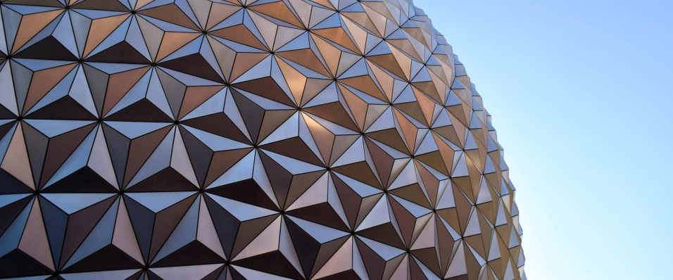 Unsplash photo-Close up interesting exterior Epcot cropped